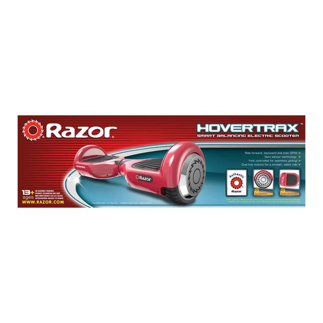 15156262 Razor Hovertrax 1.0 Hoverboard Electric Hover Smart Board, Red 4