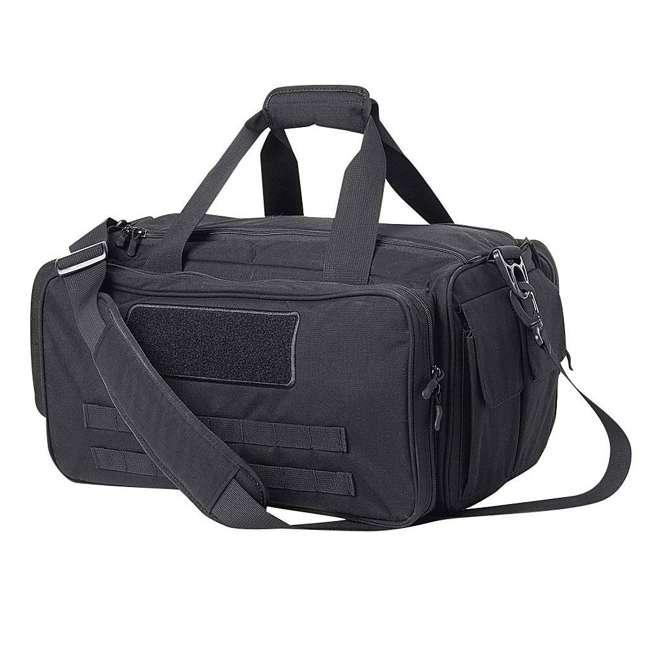 CPG-DB-CTD-M-B Cannae Pro Gear 500D Nylon 60-Liter Transport Duffle Bag, Black 2