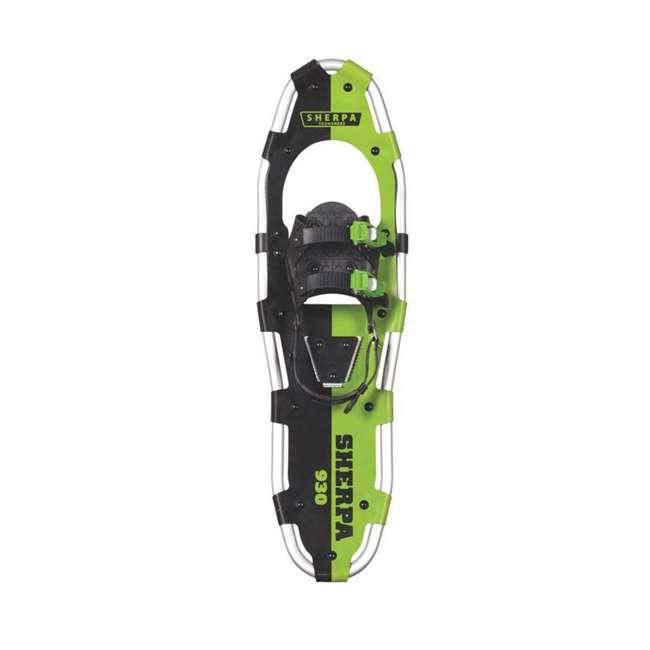 "80-5017K Yukon Charlie's Sherpa 9"" x 30"" Hiking Snowshoe Kit, Green 1"