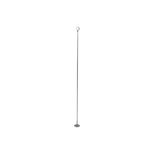 CCS381T Kingston Brass CCS381T 38-Inch Ceiling Post Support For CC3141, Polished Chrome