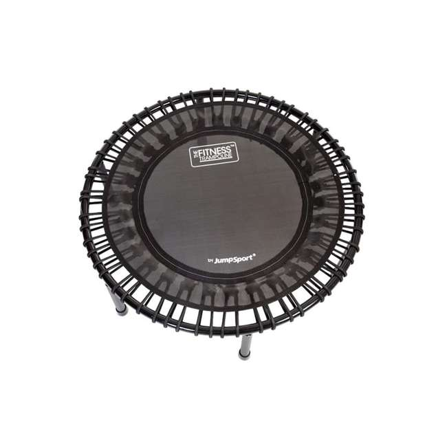 RBJ-S-20820-01 JumpSport 200 In Home Cardio Fitness Rebounder Mini Trampoline and DVD, Black 3