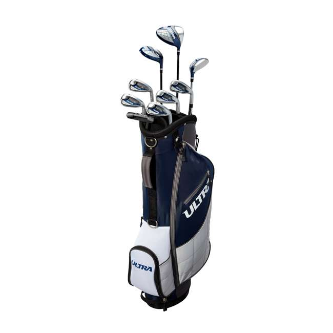 WGGC43600 + WGWP40150 Wilson Ultra Men's Right-Handed Complete Golf Club Set & Balls 9