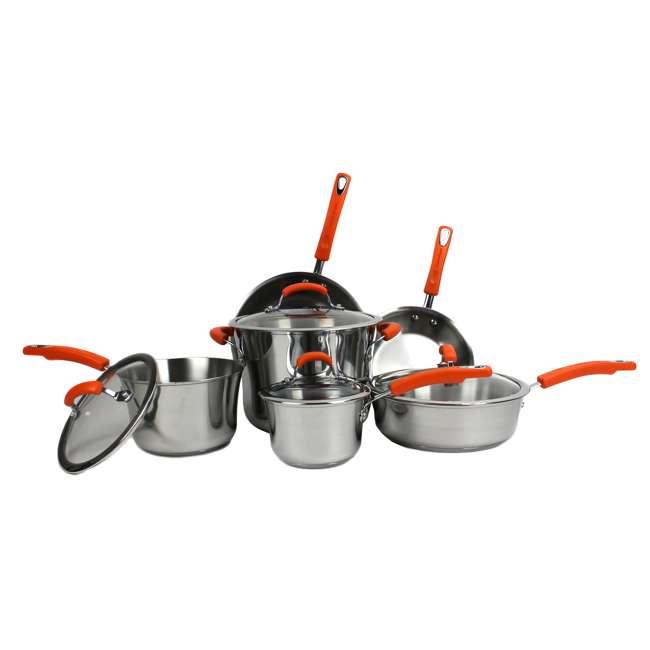 75813 Rachael Ray 10-Piece Cookware Set