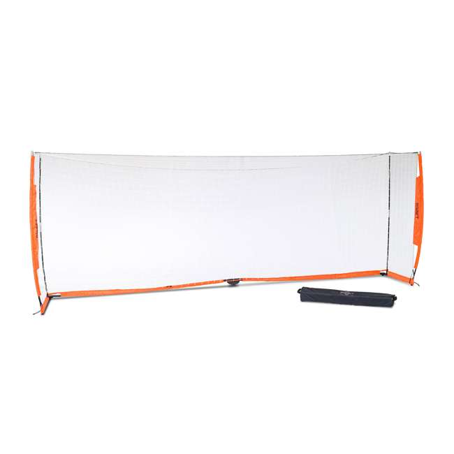 Bow6.6x18.5 Bownet 6.6' x 18.6' Portable Training Practice Soccer Goal (2 Pack) 1