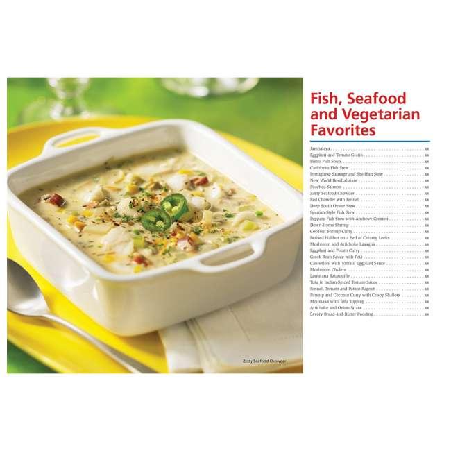 33967 + SLOWCOOK150 Hamilton Beach Set n' Forget 6 Qt Programmable Slow Cooker & 150 Recipe Cookbook 9