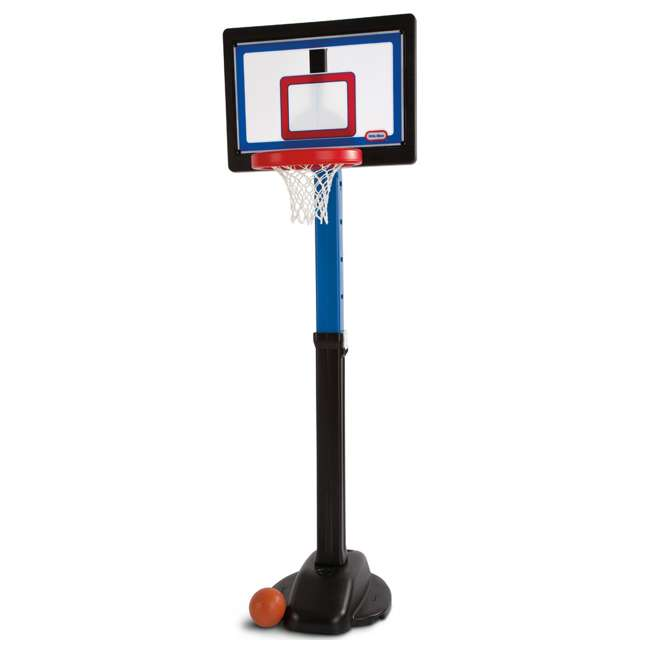 632594-U-C Little Tikes Play Pro Kids Play Toy Portable Basketball Hoop Set (For Parts)