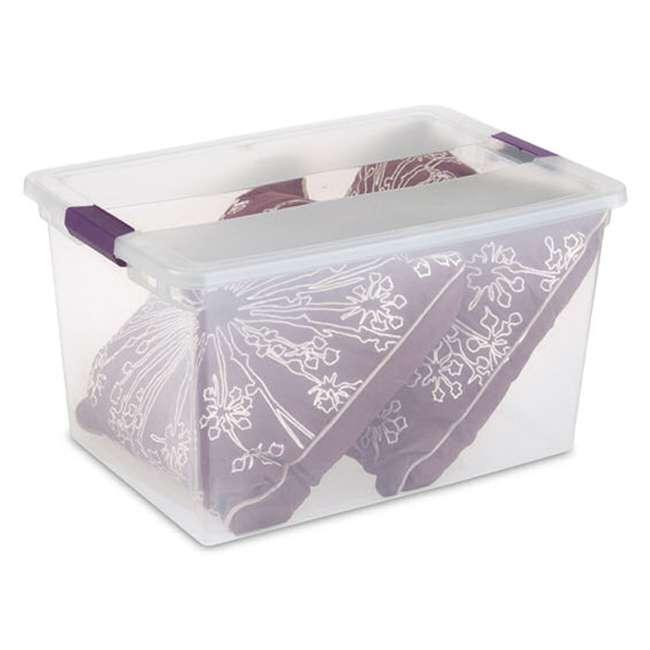 42 x 17571706 Sterilite 66-Quart ClearView Latch Box | 17571706 (42 Pack) 3