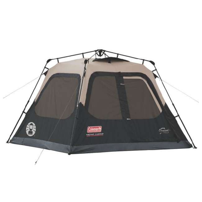 2000018016 + ENGCB2-P1PO Coleman 4-Person Family Instant Tent & 24 Can Backpack Cooler 1