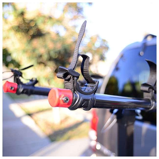 42084 + 522RR-R Kent Bikes Avigo Air Flex Steel 20 Inch Boys BMX Bike & 2 Bike Car Hitch Rack 4
