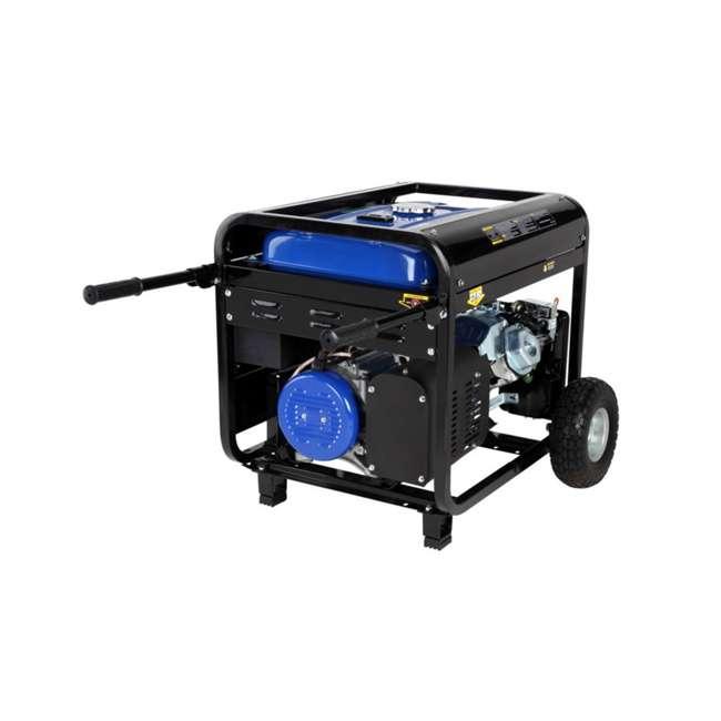 XP10000E + XPLGC DuroMax 10000 Watt Portable Gas Generator & Generator Cover, Black 5