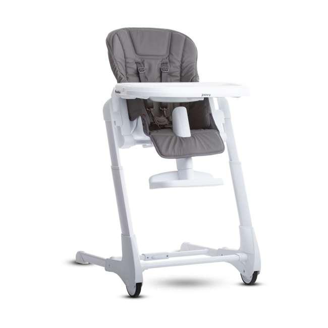 JVY-2129 Joovy Foodoo Adjustable Reclining Portable Baby High Chair, Gray