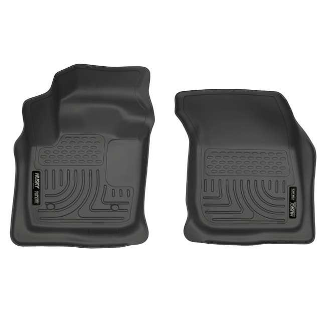HUSKY-99751-OB Husky Liner Weatherbeater Front & Second Floor Liner for Ford Fusion or Lincoln MKZ 2