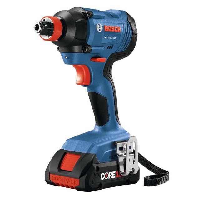 "GXL18V-239B25-RT-RB Bosch 18V 1/2"" Hammer Drill Driver & Impact Driver Kit (Certified Refurbished) 1"