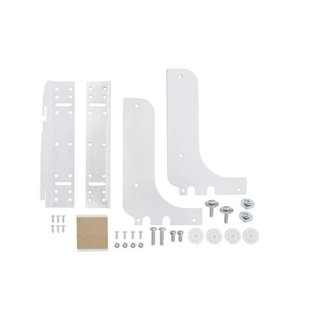 RV DM KIT Rev-A-Shelf RV DM KIT Door Mounting Kit for RV Series Waste Containers, White