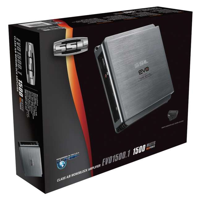 EVO1500.1 Sounstorm Ssl EVO1500.1 1500W Mono AB Amplifier with Remote 6