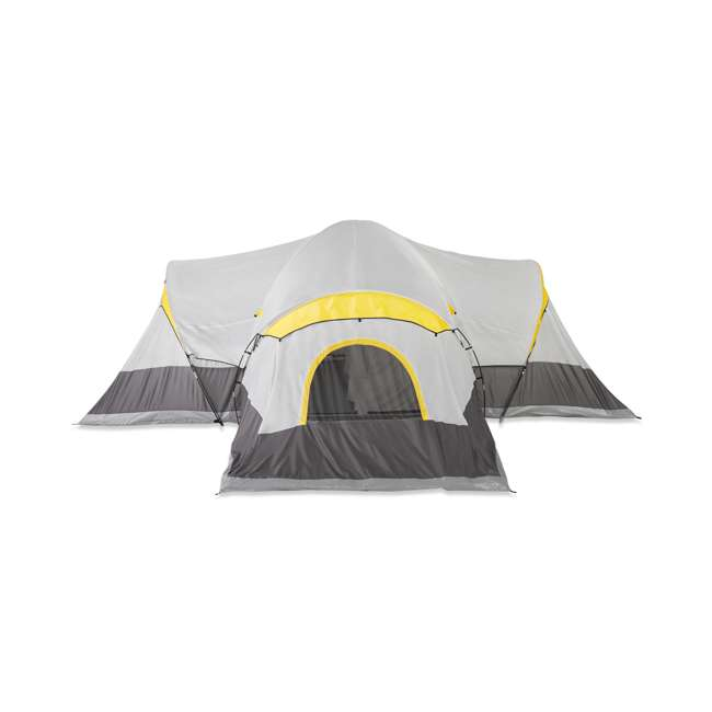 TGT-MANITOBA-14-C Tahoe Gear Manitoba 14-Person Family Outdoor Camping Tent w/ Rainfly, Orange 2