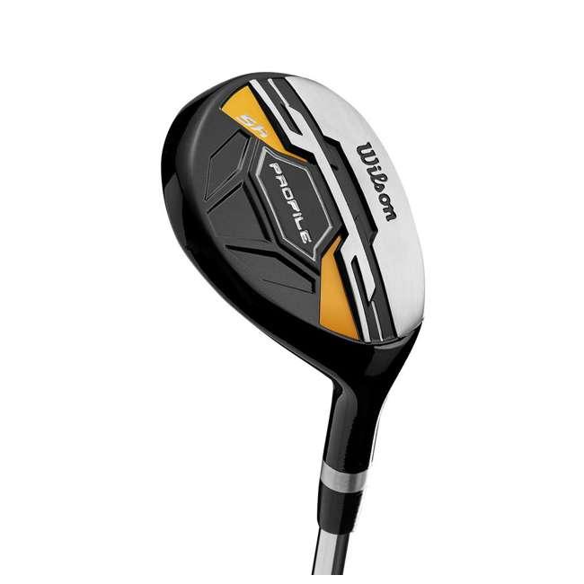 WGGC43700 + GB7-VOICE2-GREY + PGSMGps Wilson Profile XD Clubs, Golf Buddy RangeFinder, Golfwith SmartMarker  4