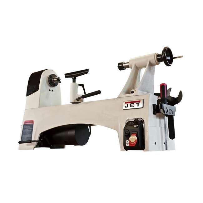 JPW-719200 JET 12 x 21-Inch Variable Speed Woodworking Lathe (Without Stand) 1