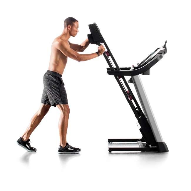 PFTL10916 + WAWkB2017 ProForm 905 CST iFit Folding Treadmill + Weider PowerBell 20 Pound Kettlebell 4
