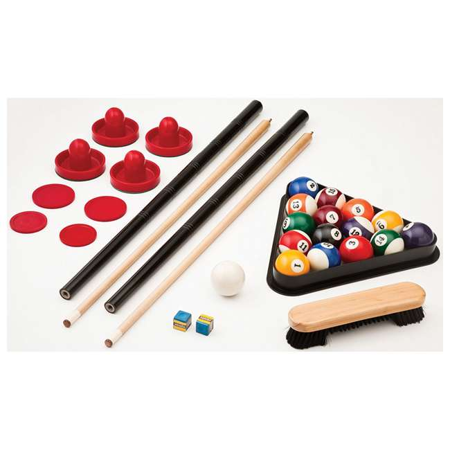 64-1046 Fat Cat 3-in-1 Air Hockey, Billiards, and Table Tennis Table 9