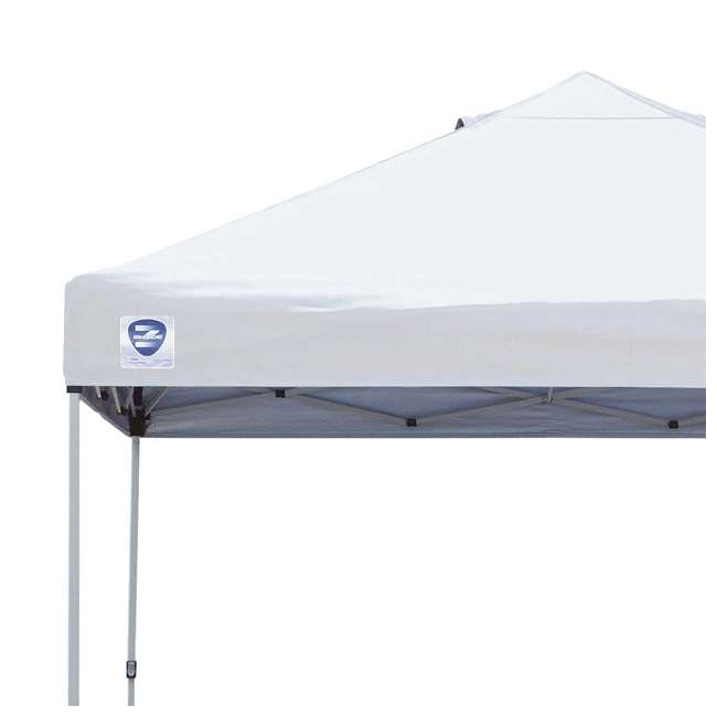 ZS1010PKWH-U-A Z-Shade 10' x 10' Peak Canopy Instant Portable Shelter (Open Box) (2 Pack) 2