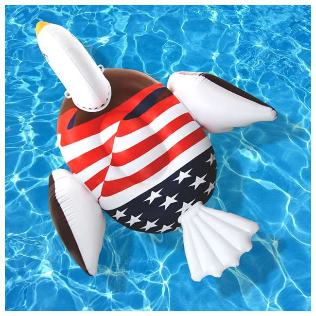 90700 Giant Patriot Eagle Swimming Pool Float 9