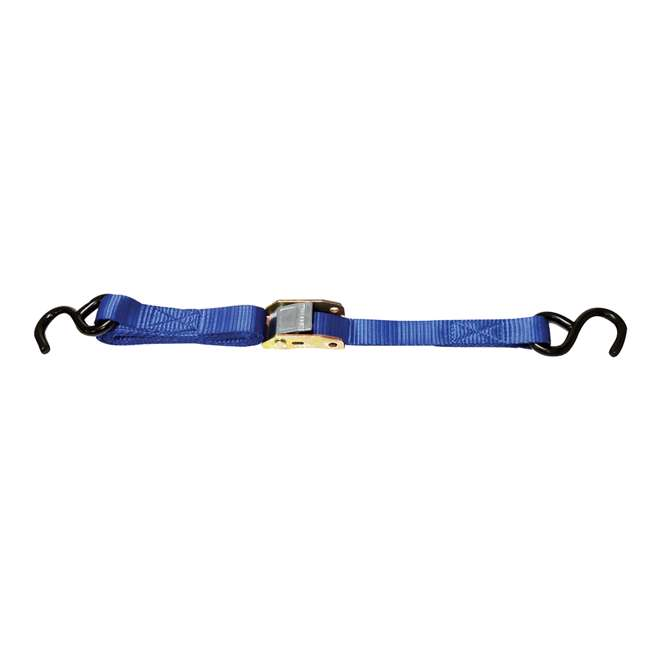 CARGO-42458 Keeper 04650 Ratchet Tie-Down Cargo Strap with Chain Ends