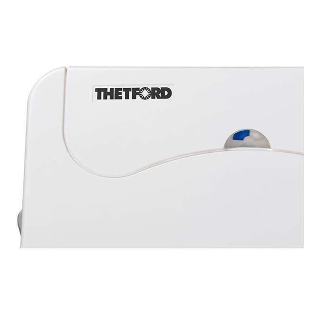 92306 Thetford 565E Porta Potti Portable Battery Powered Flush Travel Toilet, White 5