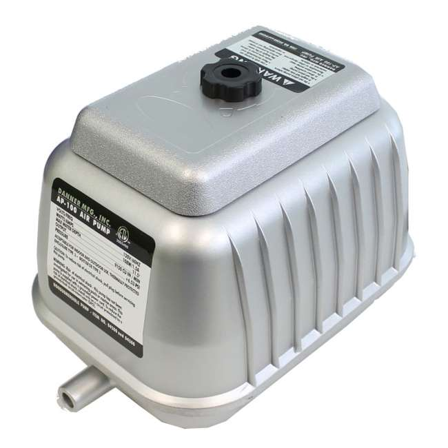 DANN-04580-U-B Pondmaster AP 100 Pond Air Pump for 10,000 Gallon Garden Aquarium (Used) 1
