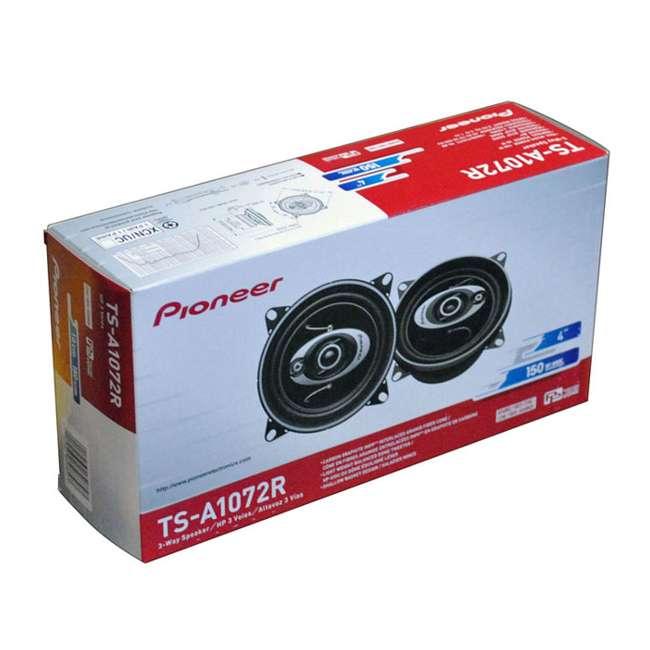TSA1072R Pioneer TS-A1072R 4-Inch 150 Watt 3-Way Car Speakers