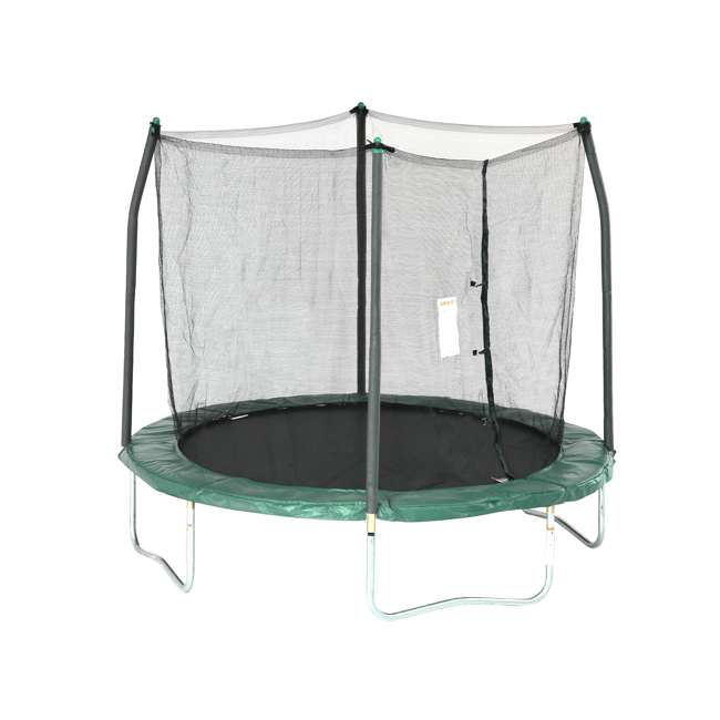 SWTC811 Skywalker 8 Ft Round Trampoline w/Safety Enclosure