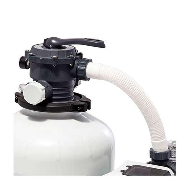 26651EG + 2 x 29060E Intex Pool Sand Filter Pump w/ Pump Hose (2 Pack) 4