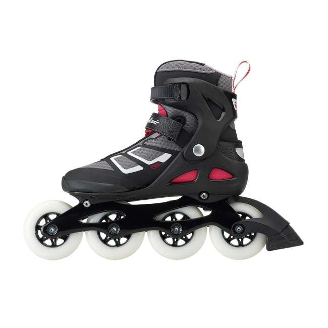 077341009V1-8 Rollerblade USA Macroblade 90 Women's Adult Fitness Inline Skates Size 8, Red 1