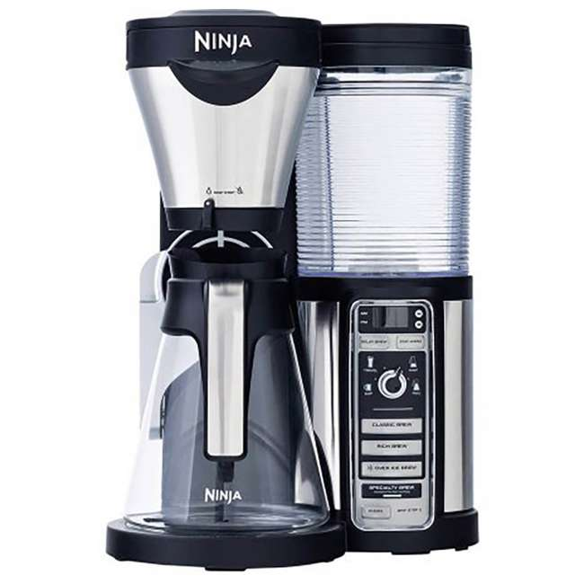 CF080A_EGB-RB Ninja Coffee Bar with Glass Carafe and Filter Basket (Certified Refurbished) 1