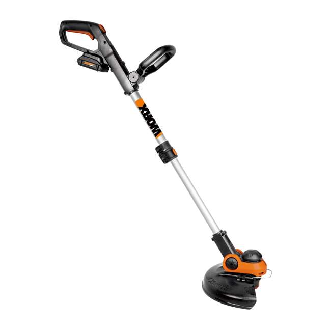 WG163.9 Worx WG163.9 12-Inch 20-Volt Lithium-Ion Trimmer & Edger (Tool Only) 1