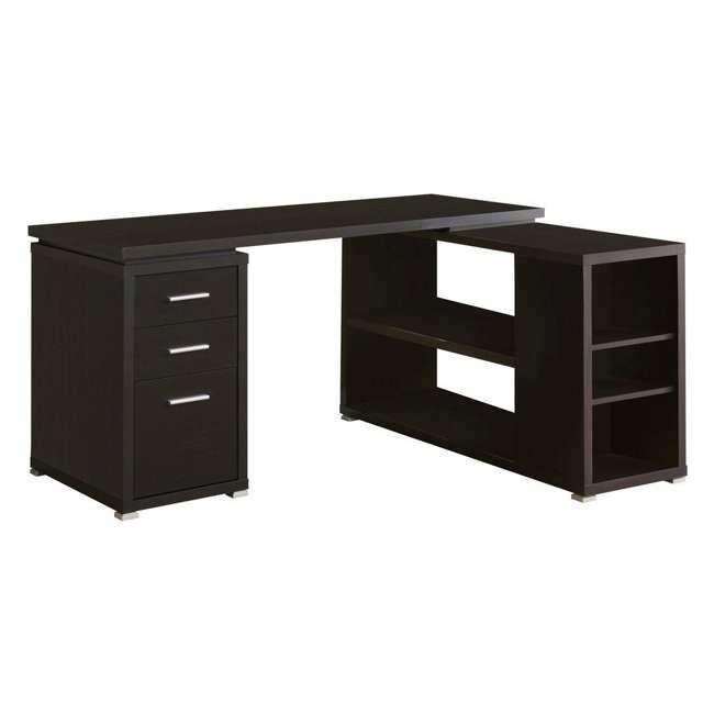 VM-7019-U-A Monarch Specialties Inc. Left or Right Facing Corner Computer Desk (Open Box)