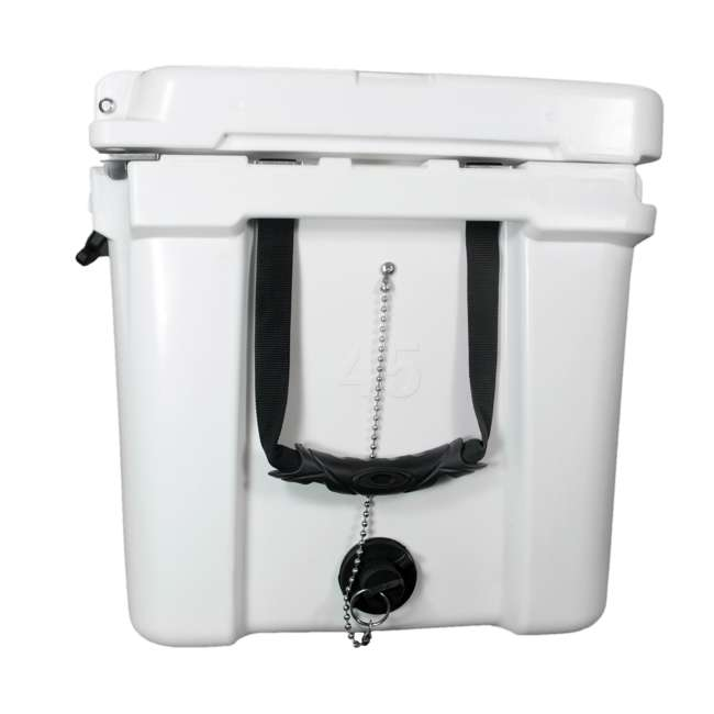 BFDB45-WH Big Frig Denali 45 Quart Insulated Cooler with Cutting Board and Basket, White 4