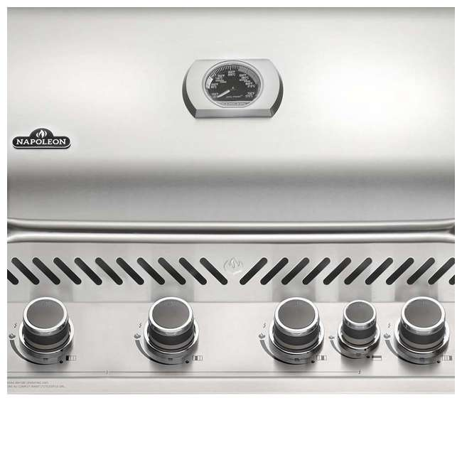 BIP500RBNSS-2-U-C Napoleon 31'' Prestige 500 Built In Stainless Steel Gas Grill Head (For Parts) 4