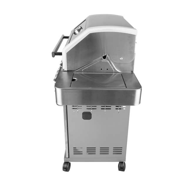 MG-35633 Monument Grills Clearview Lid 4 Burner w/Side Sear Burner Propane Grill (2 Pack) 3