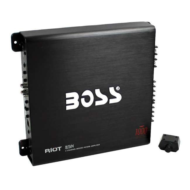 R2504 Boss Audio 1000-Watt 4-Channel Amplifier (2 Pack) 1