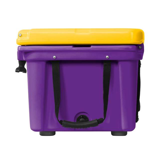 ORCPU/G0026 Orca ORCPU/G0026 Roto Molded 26 Quart 24 Can Insulated Ice Cooler, Purple/Gold 2
