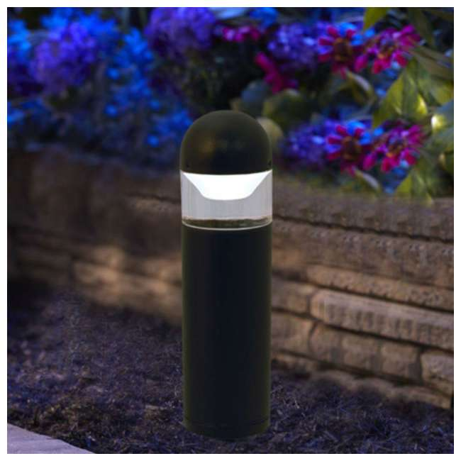 MR-95555 Moonrays 95555 Metal Outdoor 1 Watt 24 Lumen LED Bollard Landscaping Path Light 2