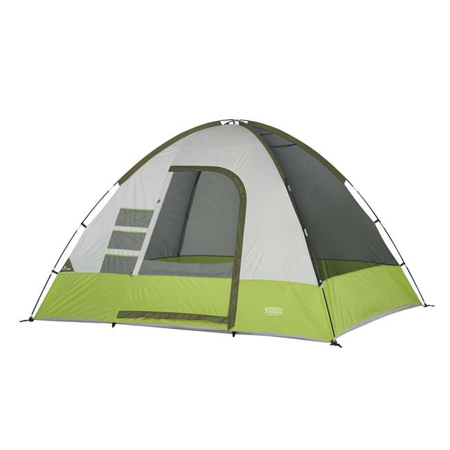 7362516 Wenzel 8-Person Portico Outdoor Family Camping Tent, Green (2 Pack) 2