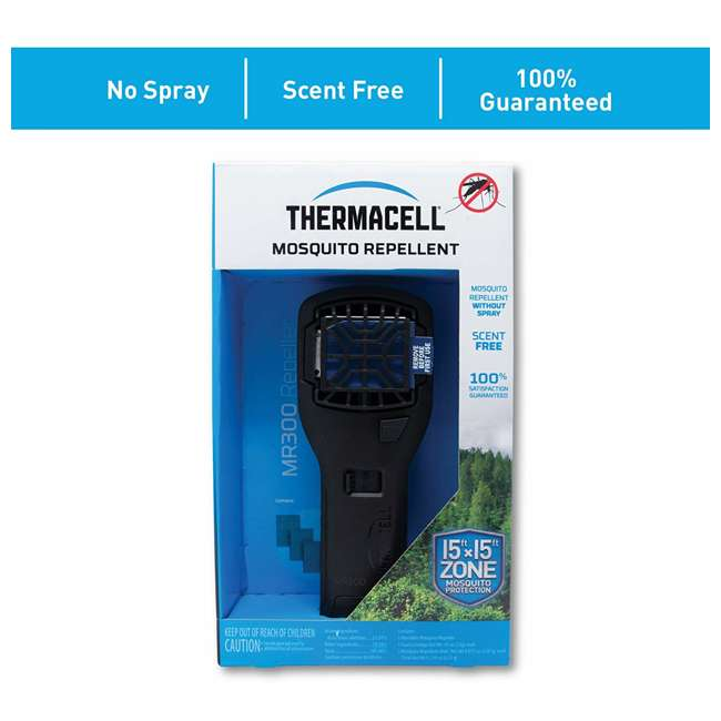 MR300L Thermacell MR300L Mosquito Repellent & Refill with 12 Mats & 4 Fuel Cartridges 2