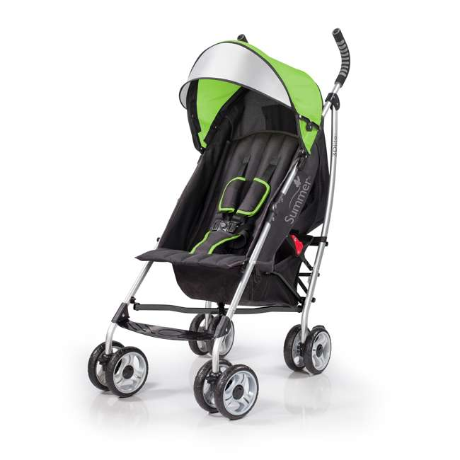 21970A Summer Infant 3Dlite Convenience One-Hand Adjustable Stroller Tropical Green