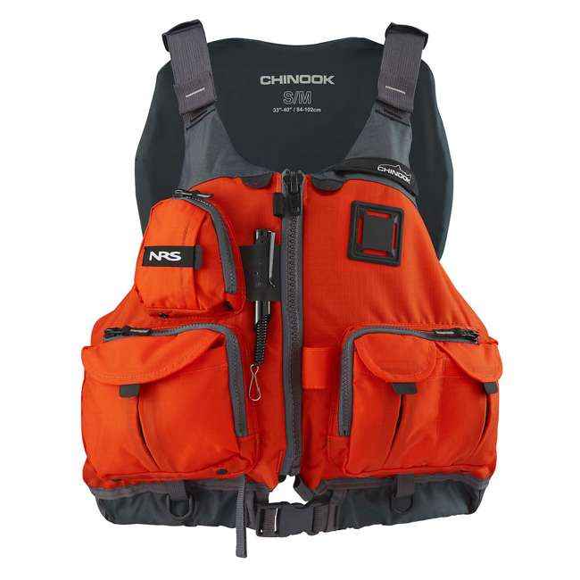 NRS_40009_03_105 + NRS_40009_03_102 NRS Adult Chinook Fishing Boating PFD S/M & L/XL Safety Life Jackets 6