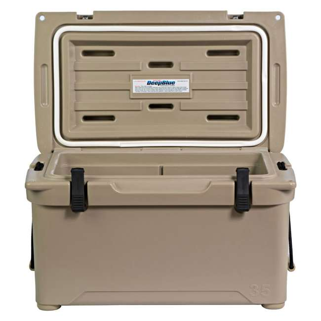 ENG35-T Engel 35 High-Performance Roto-Molded Cooler, Tan 2