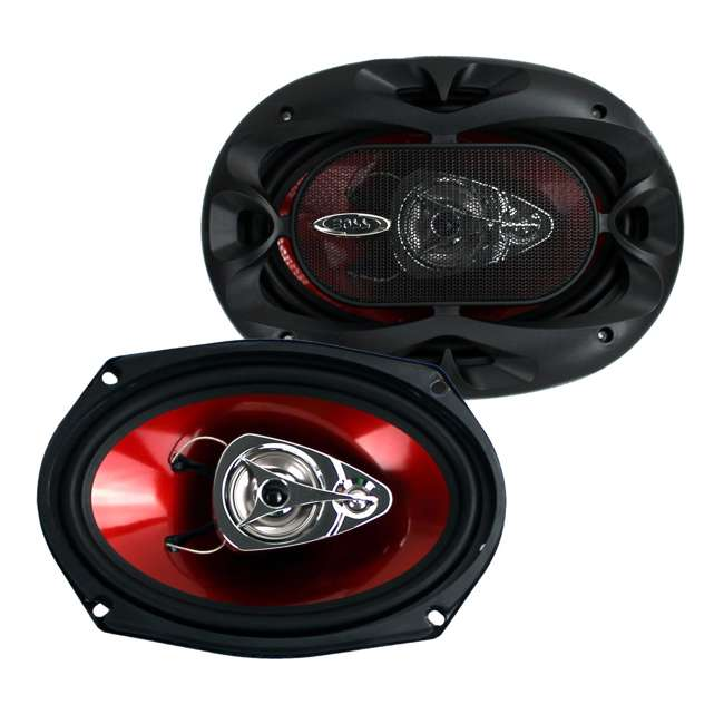 MM522 + CH6930 Polk Audio MM1 5.25-Inch Coaxial with Boss 6x9-Inch Speakers 7