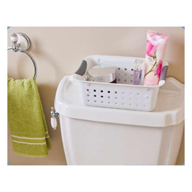 72 x 16228012-U-A New Sterilite 16228012 Small Ultra Plastic Storage Bin Organizer Basket -White (72 Pack) 3