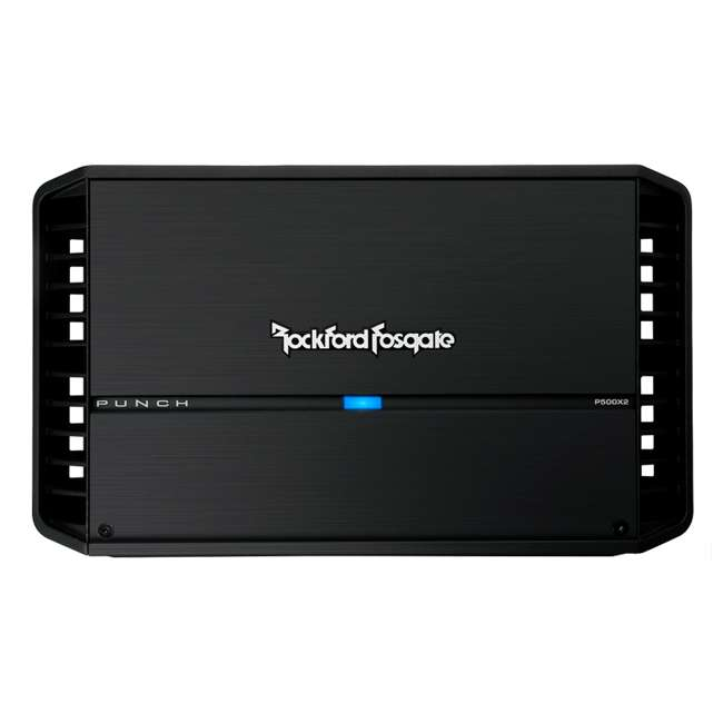P500X2 Rockford Fosgate P500X2 500W 2 Channel Amplifier 1
